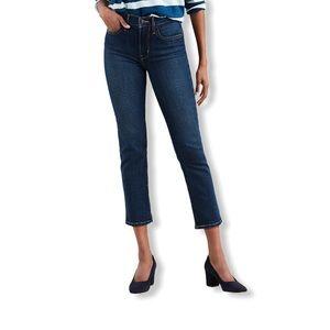 Levi's Junior's 724 Straight-Leg  Cropped Jeans
